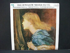 The Romantic Silver Flute William Bennett Trevor Wye Pearl British Pressing
