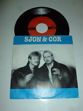 "SJON & CORB - Natasja - 1985 Dutch 7"" Juke Box Vinyl Single"