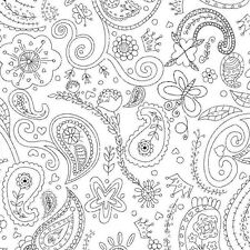 PRINCESS PAISLEY~MICHAEL MILLER FABRIC~BY 1/2 YD~COLOR ME~CROWNS~BLACK WHITE