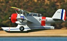 Grumman J2F Duck    58 Inch  Giant Scale RC AIrplane PDF Plans on a CD