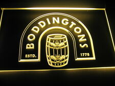W4401 B Boddingtons 1778 ALE Beer Bar LED Light Sign