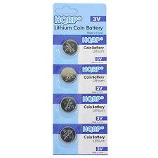 4x HQRP CR1632 Pilas de Botón Litio para Garmin Vivofit 010-01225-08 Reemplazo