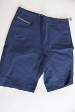 New Sombrio Men's Cycling MTB Baggy Bike Shorts Large L Blue Mountain