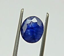 3.93 Natural Certified Blue Sapphire Oval Loose Gemstone
