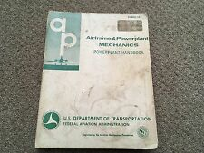 airframe and power plant handbook 1976, oxford school stamped