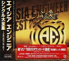 ASIA ENGINEER Single Daizenshu THE BEST Japan CD+DVD NEW