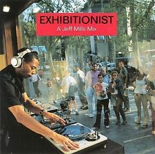 JEFF MILLS Exhibitionist A Jeff Mills Mix CD NEW Axis ‎AXCD-041electronic techno