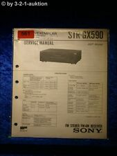 Sony Service Manual STR GX590 Receiver  (#0561)