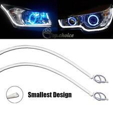 2pcs Brightness & Thinnest 60cm Pure White LED Strip Lights For Headlight Mods