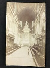 RP Vintage Postcard - London #OT2  - Cathedral Interior - Photochrom