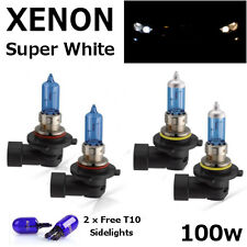 HB3 HB4 100w WHITE XENON Head Light Bulbs 12v TOYOTA CELICA 95-99 ST202 ST205