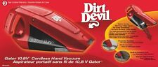 Dirt Devil Gator Cordless Bagless Handheld Portable Auto Car Home Vacuum 10.8v