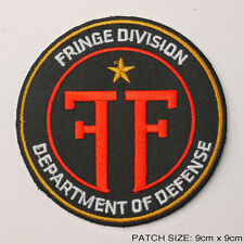 FRINGE - J. J. Abrams TV Series Prop Federal Logo Patch Original FILL SIZE