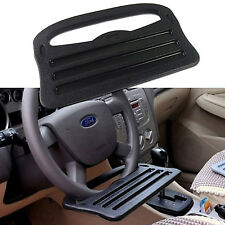 Steering Wheel Tray Table Auto Desk Mount Laptop Stand Car Truck Tablet Black