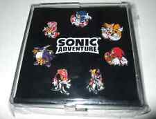 SONIC ADVENTURE Pins Japan 1998 Limited Hedgehog Free shipping Rare BOX