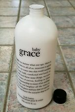 "New! Philosophy ""Baby Grace"" Body Lotion JUMBO 32 fl oz Bottle FACTORY SEALED!!!"