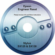 Engineers Repair / Reset CD for the Epson Stylus SX130 and SX125