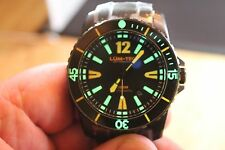 Lum-Tec 300M-3XL 45mm Blk PVD watch precision Miyota automatic movement MDV lume