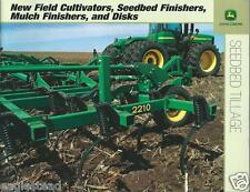 Farm Implement Brochure - John Deere - Seedbed Tillage - c2004 (F3844)