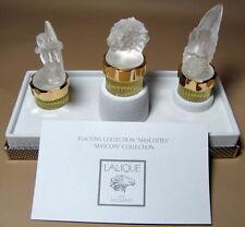 LALIQUE Pour Homme Parfum Les Mascottes Collection 1998 1999 2000 Lion Sagittair