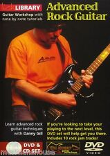 LICK LIBRARY ADVANCED ROCK GUITAR Learn to Play Riffs Scale Modes Lesson DVD