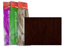 JAZZY KANEKALON JUMBO BRAID #35 DARK REDDISH BROWN HAIR DREADS