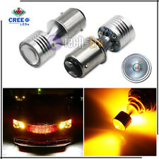 High Power 20w Amber 1157 2357A 1157A 7528 2057 CREE LED Turn Signal Light Bulbs