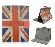"Universal, funda protectora, estuche, f. 7 pulgadas TABLET eBOOK cover ""UK Flag"" case bolso"