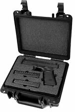 Quick Fire Glock 17, 20, 21, 22, 31, 37 Pistol Case, QF300-G01