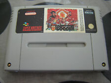 SNES Manchester United Championship Soccer (game only) PAL