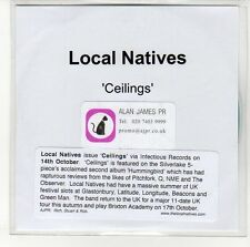 (EN379) Local Natives, Ceilings - DJ CD