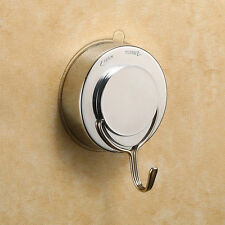 1PC Stainless Steel Suction Cup Vacuum Hook Holder Hangers Bathroom Kitchen Tool
