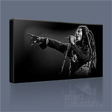BOB MARLEY AWESOME LEGENDARY REGGAE ICON CANVAS ART PRINT PICTURE Art Williams