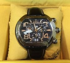 NEW! INVICTA SWISS MADE CHRONOGRAPH #2665 MEN'S WATCH WITH OSTRICH BAND