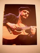 Phil Keaggy Guitarist 12x9 Coffee Table Book Photo Page