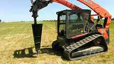 Wire Winder attachment for use on a skidsteer - Extremely useful and efficient