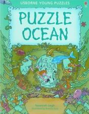 Puzzle Ocean (Usborne Young Puzzle Books)-ExLibrary