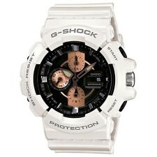 *NEW* CASIO MENS G SHOCK WHITE ROSE GOLD WATCH OVERSIZE GAC-100RG-7AER  RRP£160