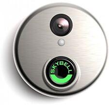 SkyBell SH02300SL HD WiFi Video Doorbell Silver Night Vision Motion Sensor New