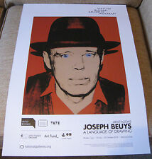 Joseph Beuys A Language of Drawing Artist Rooms Exhibition Poster *3 for 2 offer