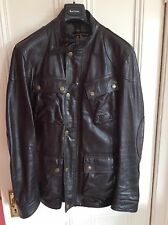 Fantastica GIACCA BELSTAFF Panther in Nero Antico