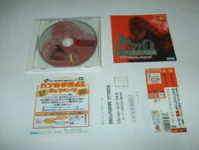 Godzilla Generations SEGA Dreamcast DC With case and Manual Japan import