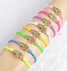 Women Fashion Elegant Infinity Jewelry Charm Handmade Cuff Bracelet Bangle Gift