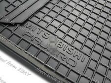 Fully Tailored Rubber / Car Floor Mats Carpet MITSUBISHI PAJERO (MONTERO) 06—16