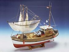"Classic, Intricate Model Ship Kit by Krick: the ""Sirius"" Fishing Trawler"
