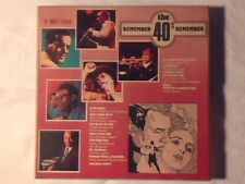 3MC Remember the 40's GLENN MILLER PEGGY LEE RARISSIME NUOVE VERY RARE UNPLAYED!