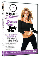 10 MINUTE SOLUTION - DANCE YOUR BODY THIN - DVD - REGION 2 UK