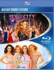 Sex and the City and Sex and the City 2 (BD) (DBFE) [Blu-ray], New DVDs