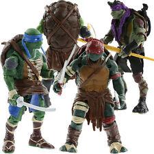 TMNT Teenage Mutant Ninja Turtles 4PCS Lot Action Figures Anime Movie Toys Gift
