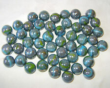 NEW 10 THUNDERBOLT 16mm GLASS MARBLES TRADITIONAL GAME or COLLECTORS ITEMS HOM